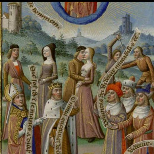 La cite de Dieu (bibliothèque municipale de Nantes) 15e siècle